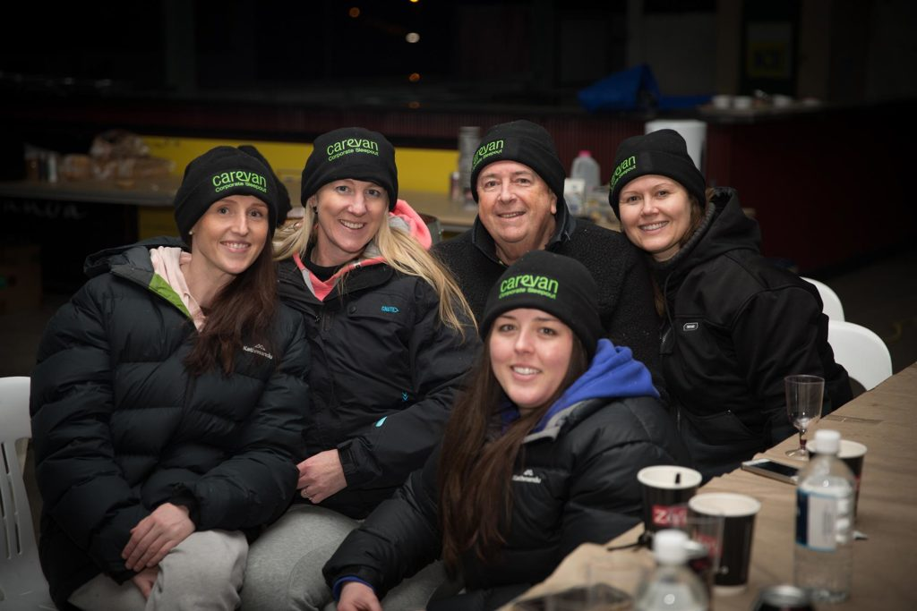 A swag of locals support sleep out